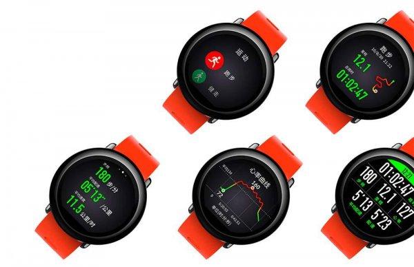 Корпорация Xiaomi презентовала умные часы с датчиком пульса