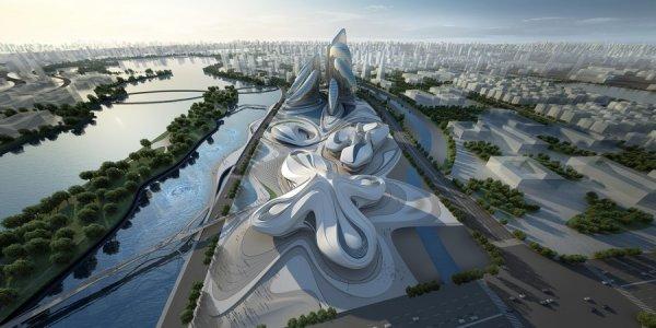 В катаре будут строить отельный комплекс в виде гиацинта