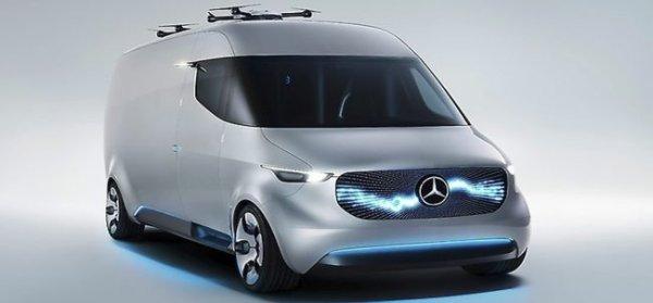 VISION VAN от Mercedes – фургон будущего для курьеров
