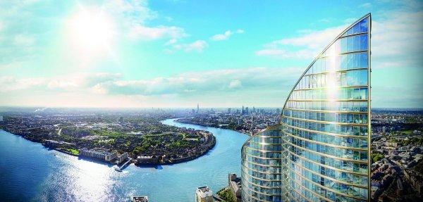 В Великобритании появится новый самый высокий жилой небоскрёб
