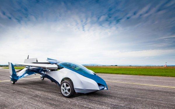 В 2017 году в продаже появится первый автомобиль-самолёт