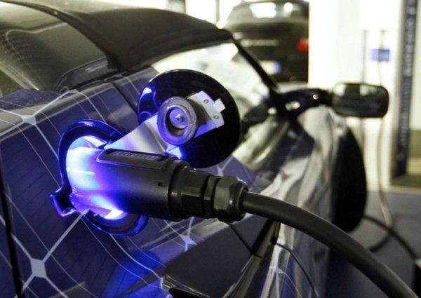 В Китае увеличивается популярность электромобилей