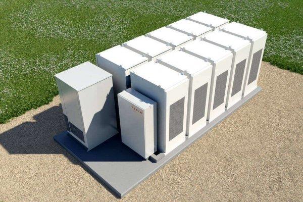 Tesla будет строить систему для хранения энергии на территории Калифорнии