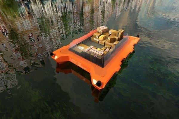 В амстердамских каналах появятся беспилотные лодки