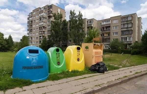 Вильнюс столкнулся с мусорным коллапсом