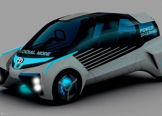 Toyota продемонстрировала уникальную водородную машину