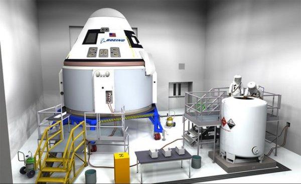 Boeing запустит космические такси, как минимум в 2018 году