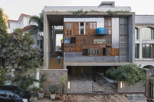 В Индии создали дом-коллаж