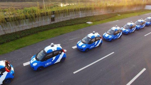 Корпорация Baidu организовала публичные испытания беспилотных машин
