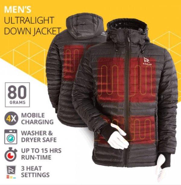 На Kickstarter презентовали куртку с подогревом и зарядкой для мобильных устройств