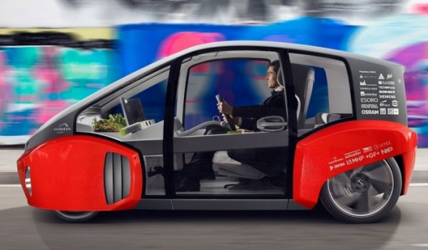 Швейцарцы придумали необычный автомобиль Оазис