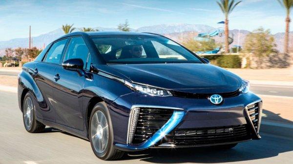 В Японии запустили производство машин с водородным мотором
