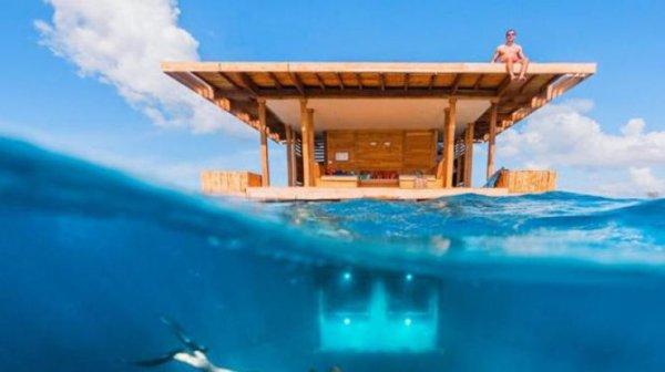 В Танзании построили отель под водой