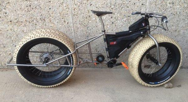 Построен необычный велосипед для покорения Антарктиды