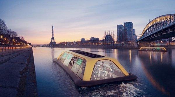 В Париже хотят открыть плавучий спортивный зал