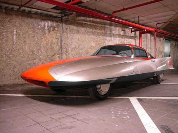 В США выставили на торги машину 1955 года без пробега
