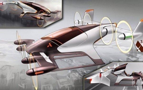 Airbus будет испытывать летающие автомобили