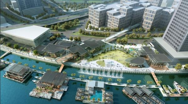Плавучие жилые здания Дубая произведут в Финляндии