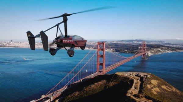 Корпорация PAL-V принимает предзаказы на летающие машины