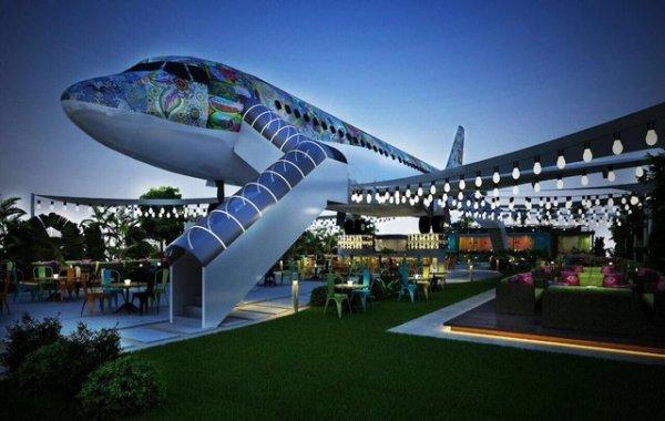 В Индии пассажирский самолёт превратили в ресторан