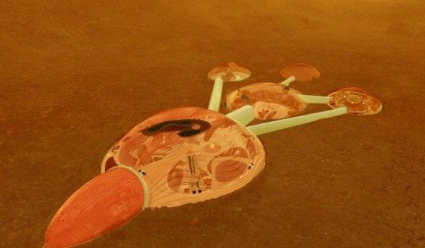 Объединённые арабские Эмираты планируют заняться строительством города на Марсе