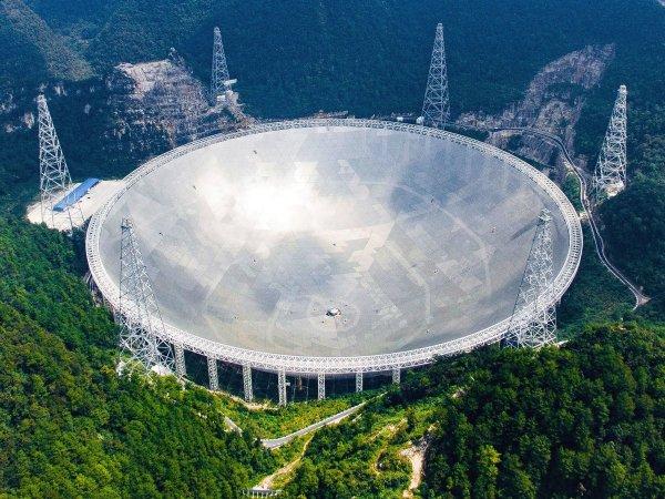 В Китае открыли для туристов самый крупный телескоп в мире