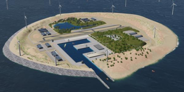 В Дании хотят перенести ветрогенераторы на искусственные острова