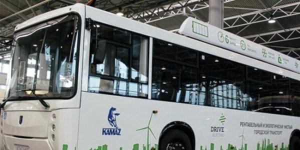 Инновационный электробус КАМАЗ можно будет зарядить за пятнадцать минут