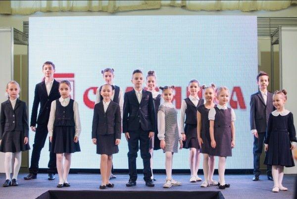 В Минске состоялся показ модных коллекций школьной формы