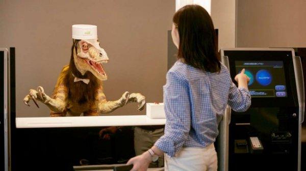 Корпорация из Японии собирается открыть сотню отелей с роботами в роли персонала
