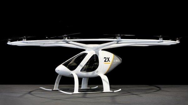 В следующем году начнутся испытания летающего такси