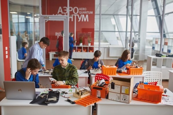В Красноярске появился детский технопарк