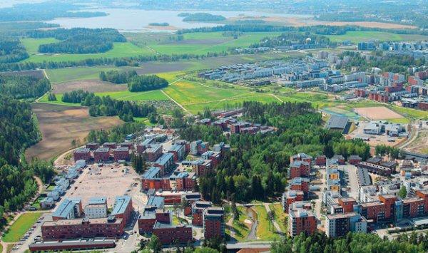 В Финляндии возводят дома, которые полностью обеспечивают себя энергией