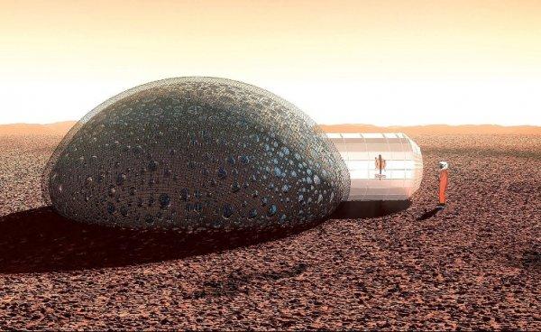 NASA проводит конкурс по созданию 3D-домов для иных планет