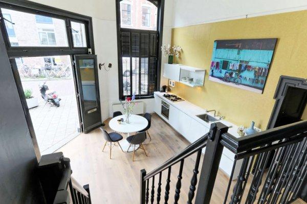 Жизнь в бывшем магазине: уникальные апартаменты на первом этаже