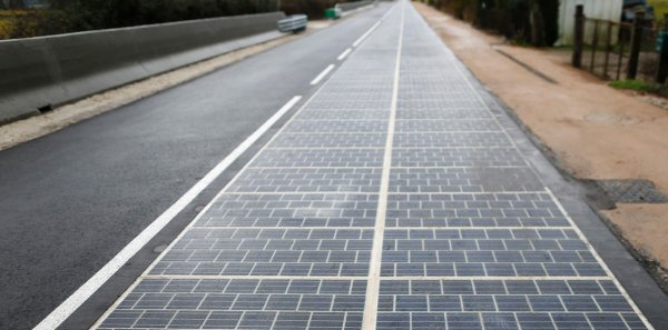 В Канаде планируют установить первый на всём земном шаре солнечный тротуар