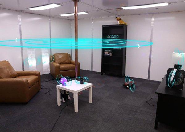Специалисты Disney презентовали умную комнату, где можно заряжать различные девайся без проводов