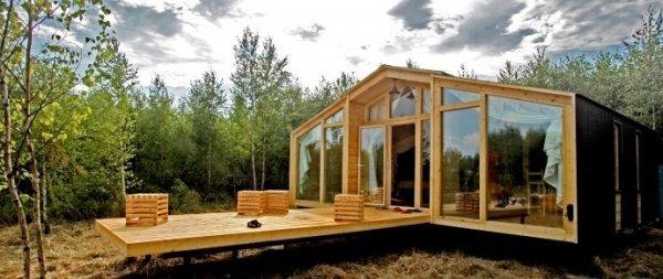 В Беларуси начали производить дома, строительство которых занимает два дня