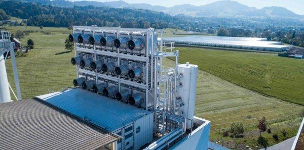 В Швейцарии запустили предприятие, призванное спасти нашу планету