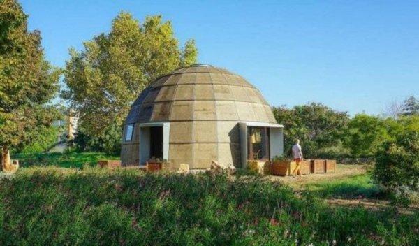 Испанские специалисты разработали проект быстровозводимого купольного жилого здания