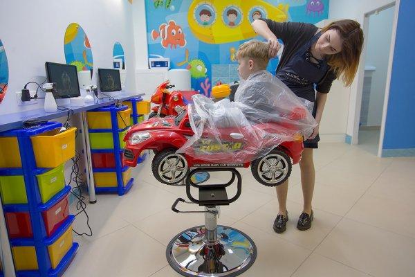 В Минске появилась необычная детская парикмахерская