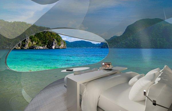 Дизайнеры создали концепт летающей гостиницы