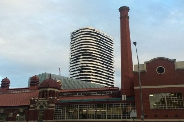 В Мельбурне появился дом-картина