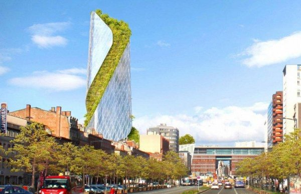 Во Франции построят небоскрёб с небесными садами