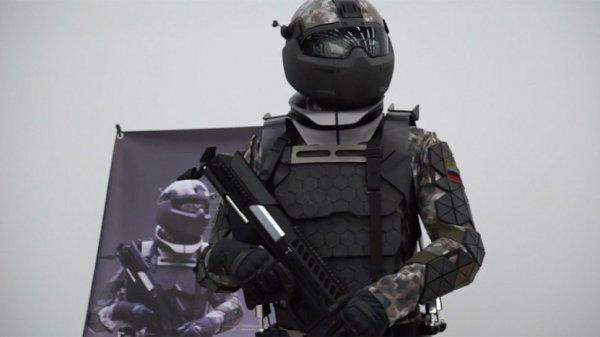 «Ростех» создал интеллектуальную военную экипировку