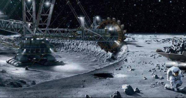 Люксембург планирует добывать минеральные вещества в космосе
