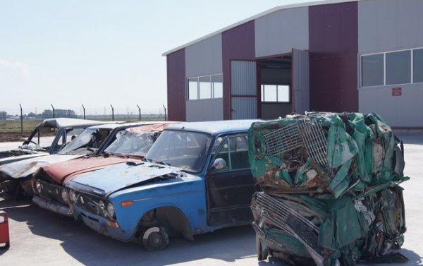 В Казахстане появится уникальное предприятие по утилизации старых машин