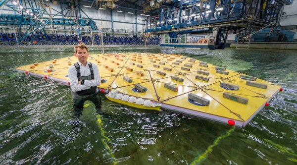 В Голландии хотят построить плавучий город