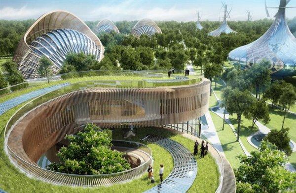 В Китае строят эко-города