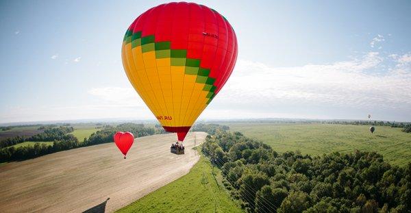 Полёт на воздушном шаре – самое романтическое приключение